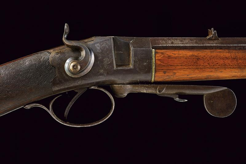 A breech loading carbine by Bentley - Image 3 of 9