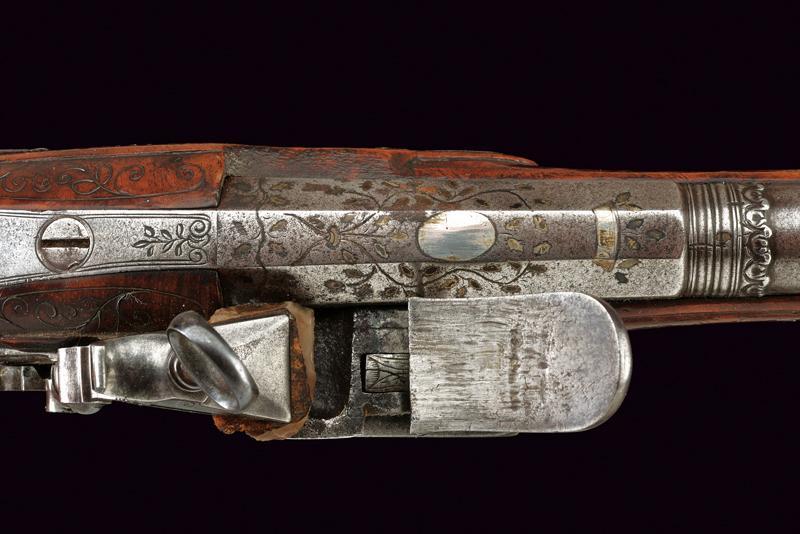 A roman style flintlock pistol - Image 3 of 5