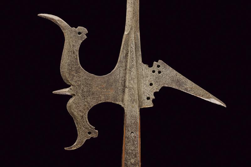 An engraved halberd - Image 4 of 6