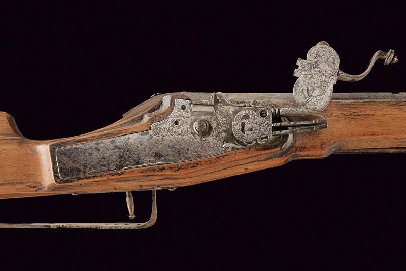 A composite wheel lock gun - Image 2 of 9