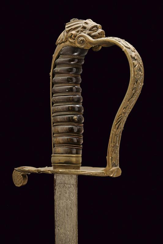 A Guardia Civica officer's sabre, model 1847 - Image 3 of 6