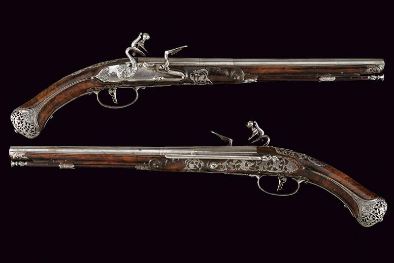 A beautiful pair of flintlock pistols by Francesco Garatto - Image 13 of 13