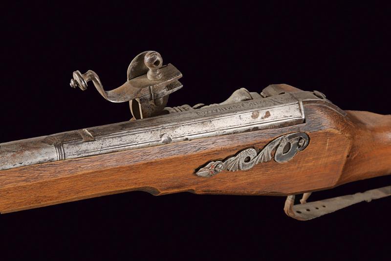 A composite wheel lock gun - Image 7 of 9