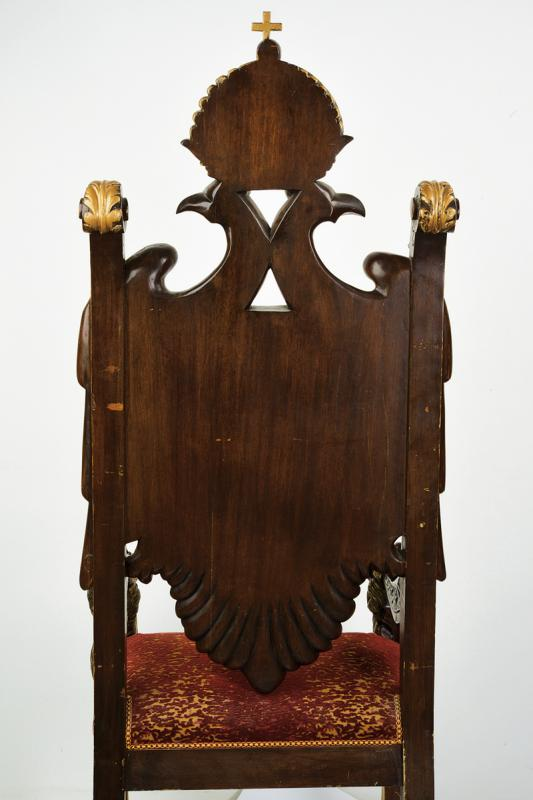 An important masonic throne - Image 6 of 11