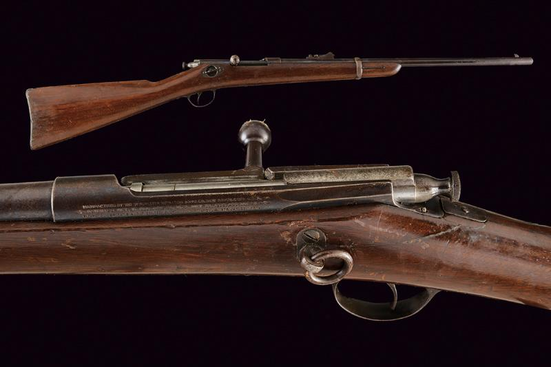 A Winchester-Hotchkiss Bolt Action Carbine