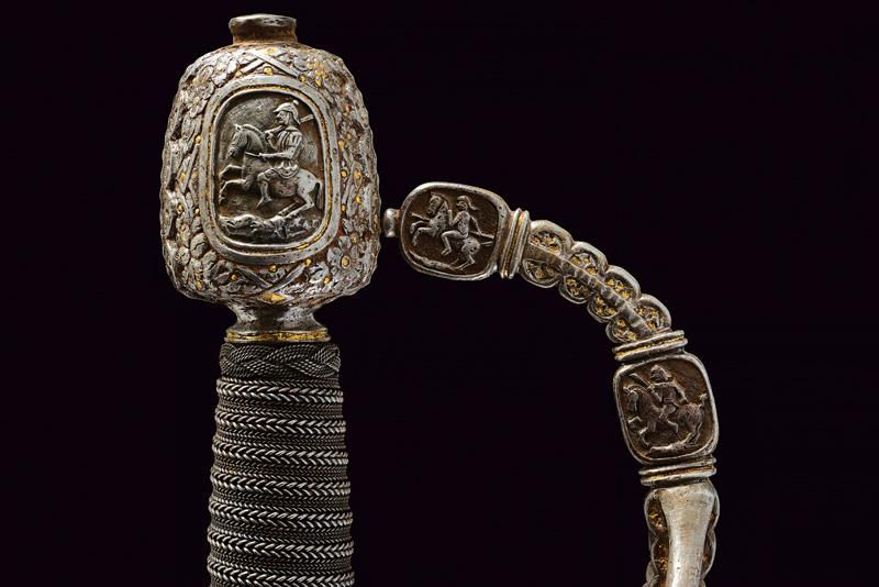 A magnificent swept hilt rapier in the style of Othmar Wetter - Image 4 of 11