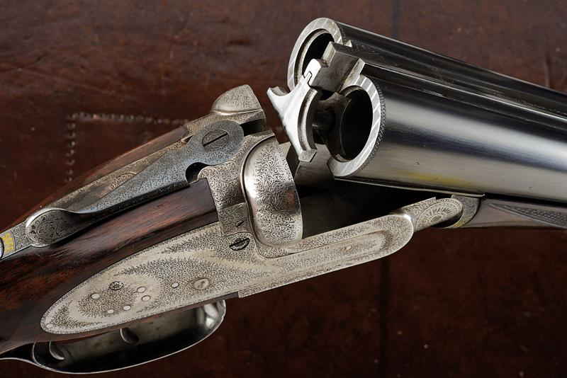 A Charles Boswell Mod. HH cased double-barreled shotgun - Image 15 of 19
