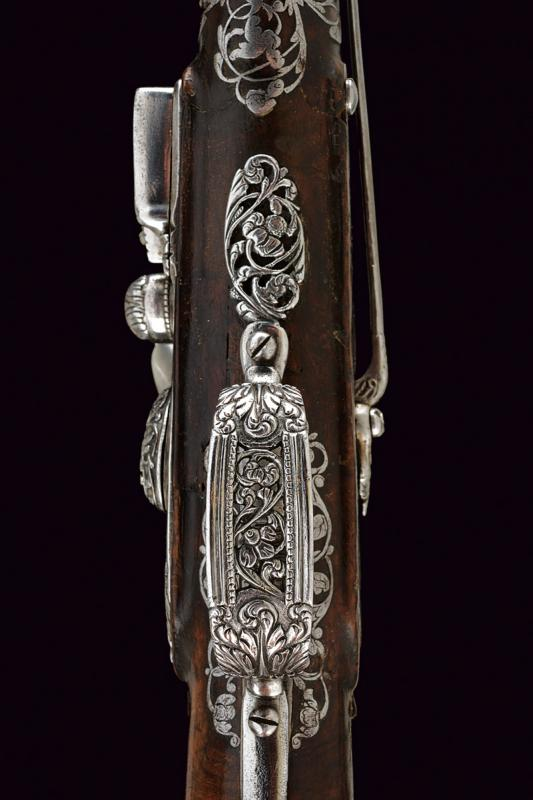 A beautiful pair of flintlock pistols by Francesco Garatto - Image 3 of 13