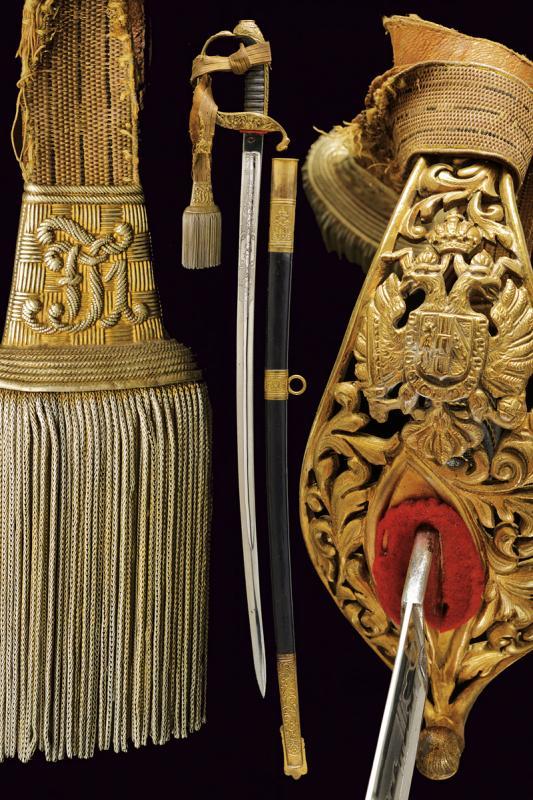 An 1889 model civil servant sabre