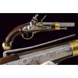 A flintlock pistol 'Guardia Real'