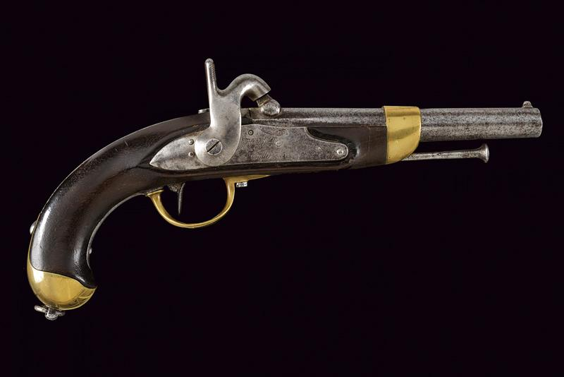 An 1816 model pistol transformed to percussion - Image 9 of 9