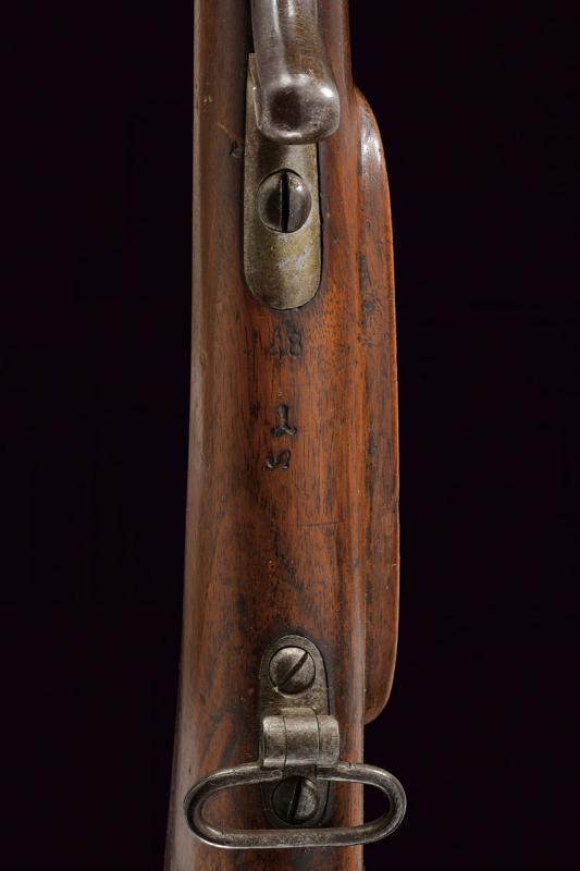 A Jagerstutzen mod. 1854/67 with bayonet - Image 9 of 12