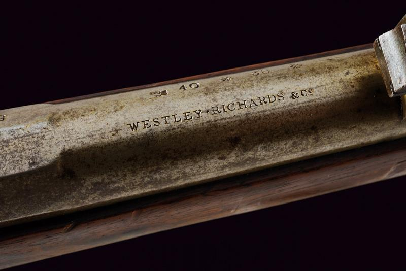 A Remington Rolling Block rifle by Westley Richards - Image 6 of 10