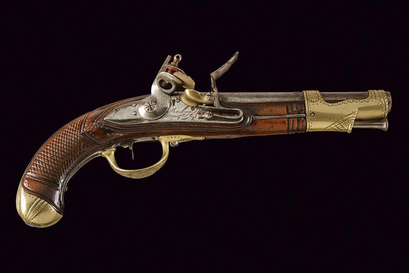 An AN IX flintlock pistol - Image 9 of 9