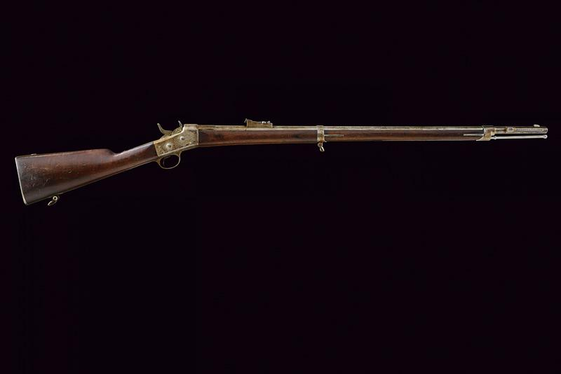 A Remington Rolling Block rifle by Westley Richards - Image 10 of 10
