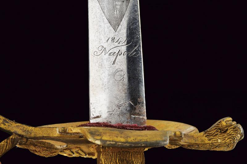 A rare navy officer's small sword - Image 3 of 6