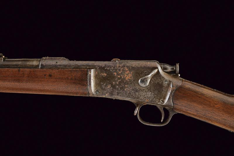 A Winchester-Hotchkiss 3rd Model Musket, 1883 Model - Image 4 of 8