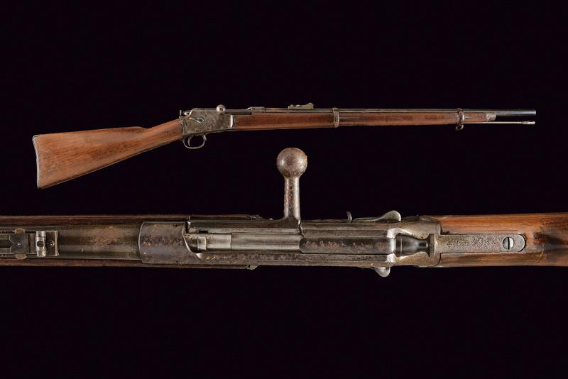 A Winchester-Hotchkiss 3rd Model Musket, 1883 Model