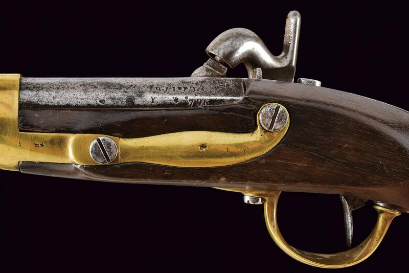 An 1816 model pistol transformed to percussion - Image 6 of 9