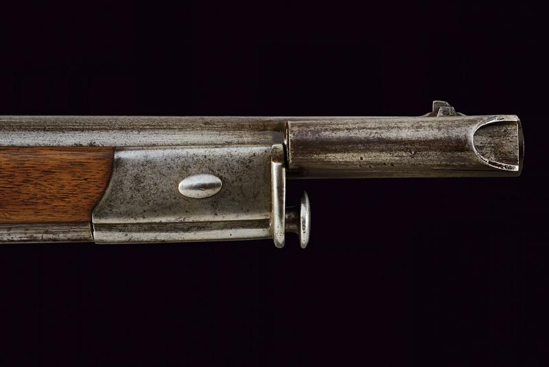 An 1851 model percussion carbine with bayonet - Image 7 of 9