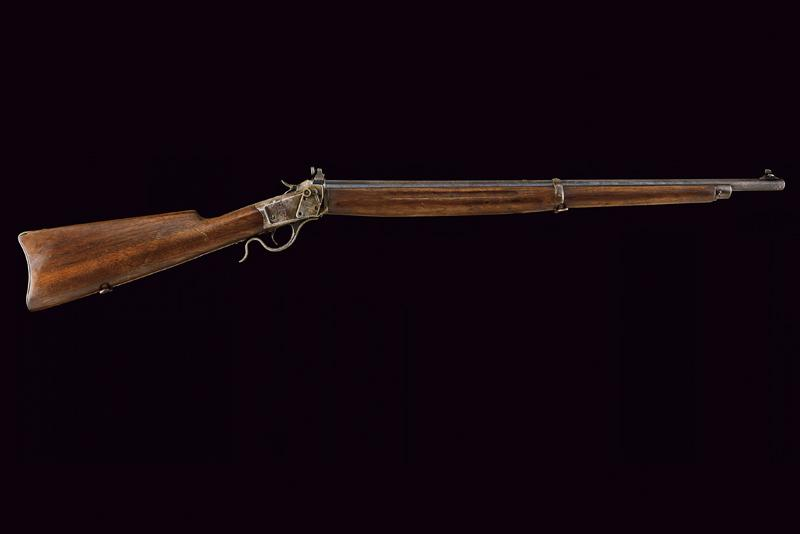A Winchester Third Model Low Wall Musket (Winder Musket) - Image 14 of 14
