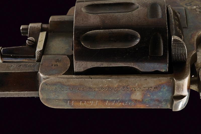A rare ten-shot center fire revolver - Image 3 of 4