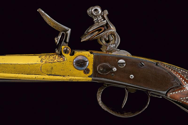 A very rare double-barrelled flintlock sporting gun by Gauvain - Image 10 of 14