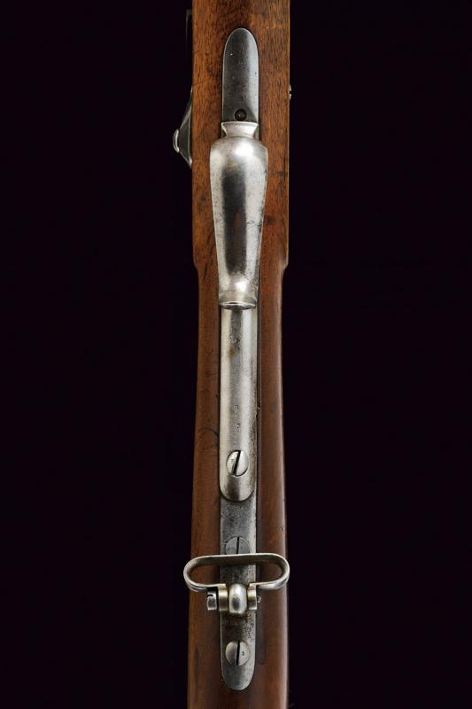 An 1851 model percussion carbine with bayonet - Image 3 of 9