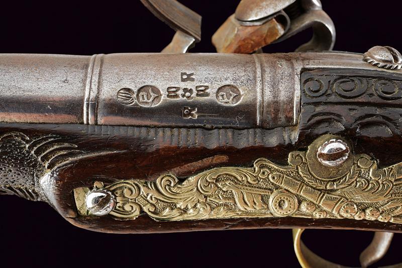 A flintlock pistol - Image 3 of 10