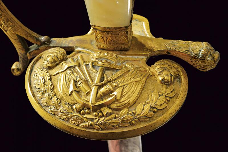 A rare navy officer's small sword - Image 2 of 6