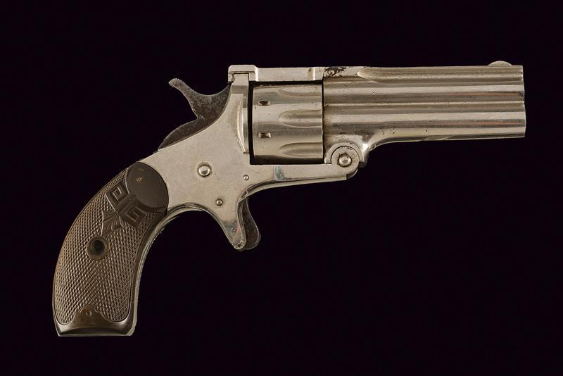 Osgood Gun Works Duplex Revolver model 1880