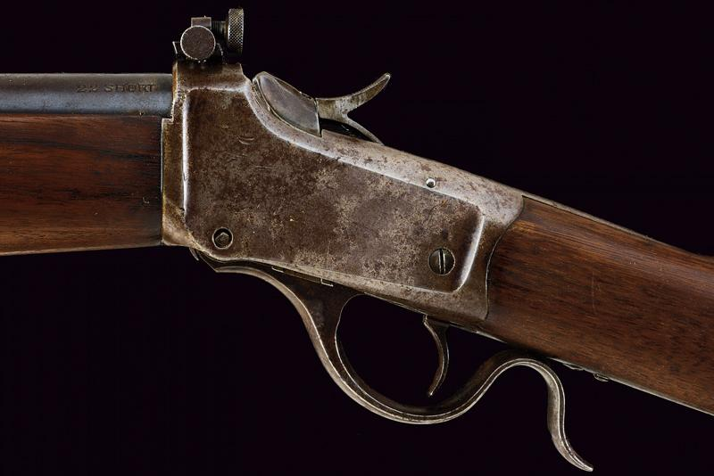 A Winchester Third Model Low Wall Musket (Winder Musket) - Image 4 of 14