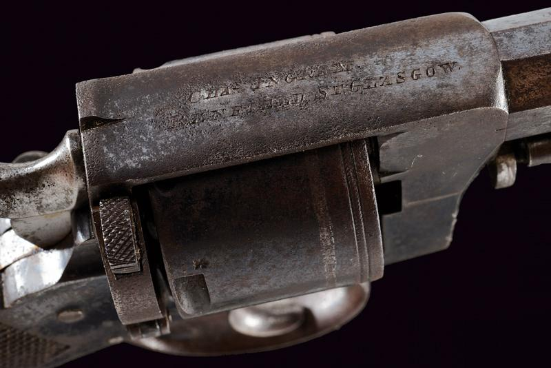 A cased centerfire revolver by Charles Ingram - Image 2 of 5