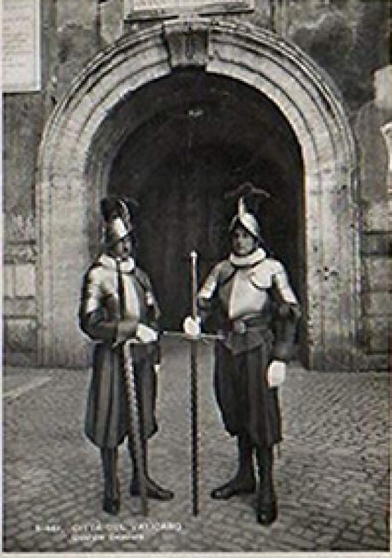 A Papal Swiss Guard's morion - Image 7 of 7