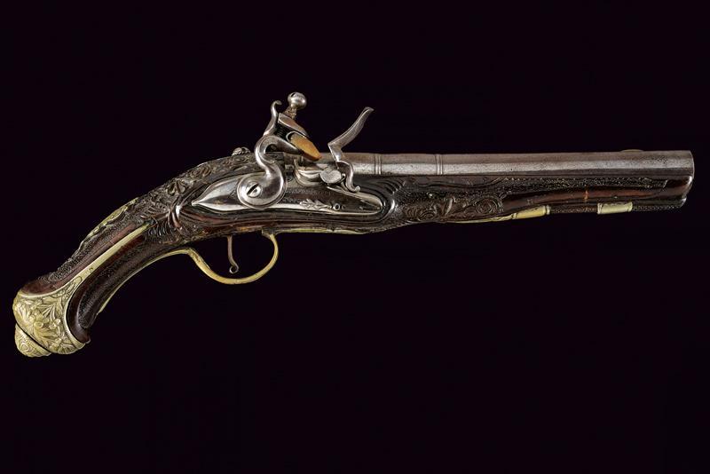 A flintlock pistol - Image 10 of 10
