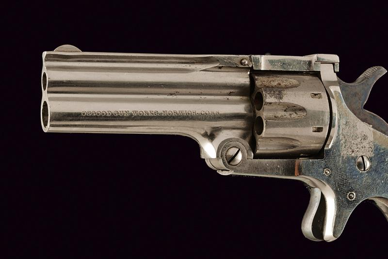 Osgood Gun Works Duplex Revolver model 1880 - Image 2 of 3
