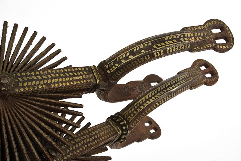 A pair of silver decorated spurs - Image 4 of 4