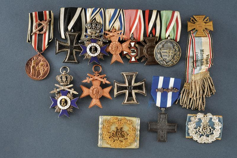 An interesting lot of orders and medals