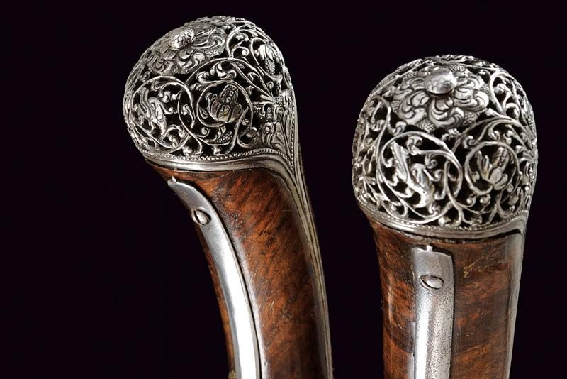 A beautiful pair of flintlock pistols by Francesco Garatto - Image 5 of 13