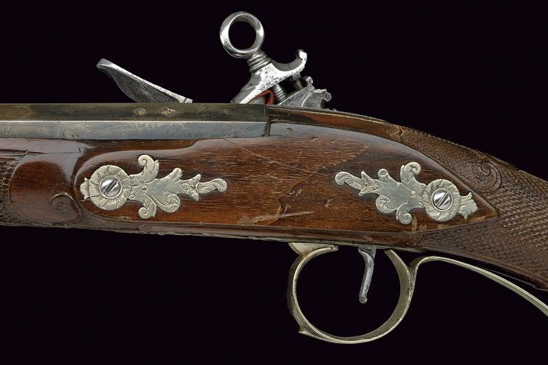 A beautiful miquelet flintlock gun - Image 6 of 10