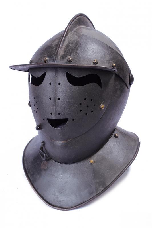 A Savoyard helmet in the 17th century style