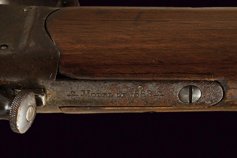 A Winchester-Hotchkiss 3rd Model Musket, 1883 Model - Image 5 of 8