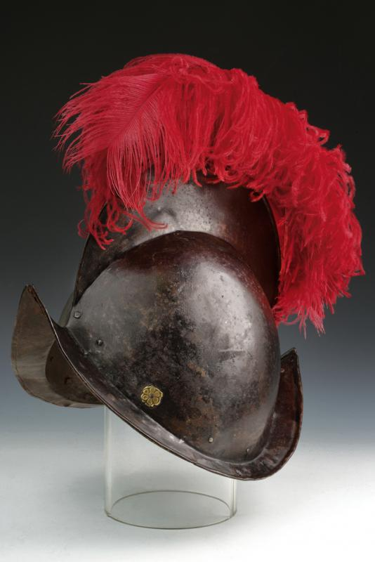 A Papal Swiss Guard's morion