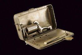 A very scarce Frankenau pin-fire pepperbox revolver in a purse