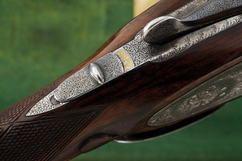 A Charles Boswell Mod. HH cased double-barreled shotgun - Image 7 of 19