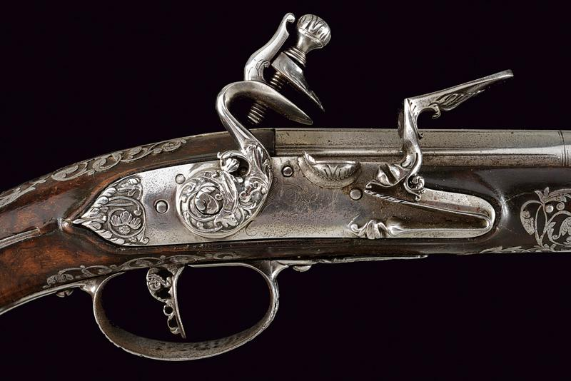 A beautiful pair of flintlock pistols by Francesco Garatto - Image 2 of 13