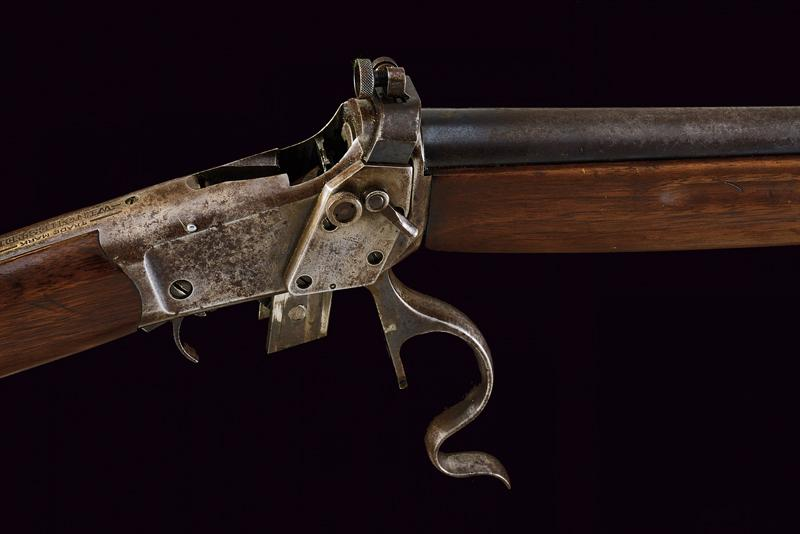 A Winchester Third Model Low Wall Musket (Winder Musket) - Image 10 of 14
