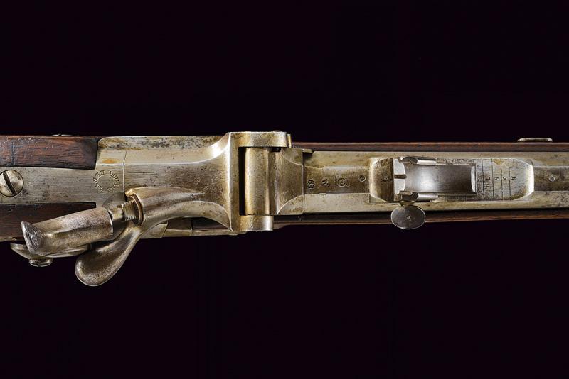 A Jagerstutzen mod. 1854/67 with bayonet - Image 7 of 12