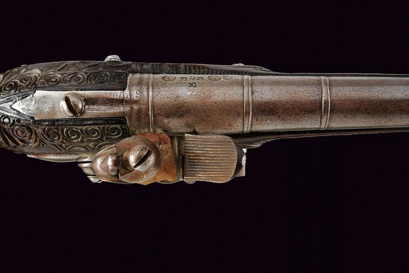 A flintlock pistol - Image 2 of 10