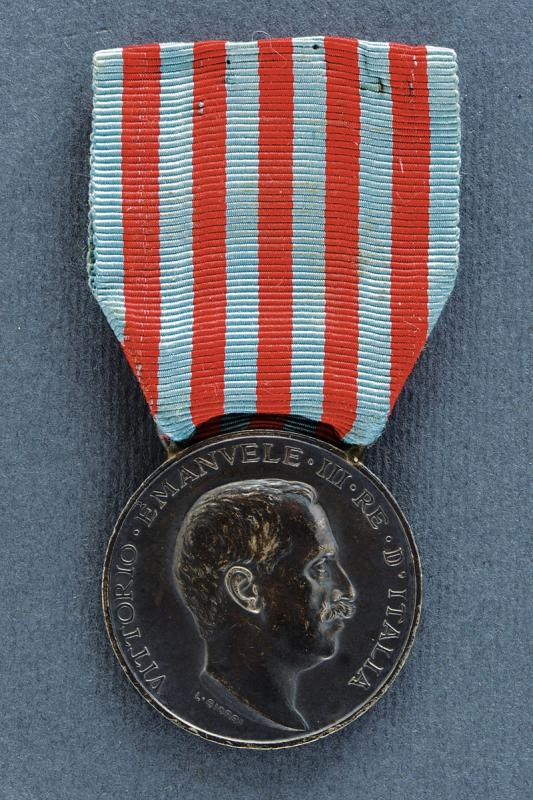 A medal of the Italo-Turkish War